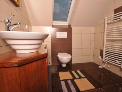 koupelna na pokojích domova pro seniory