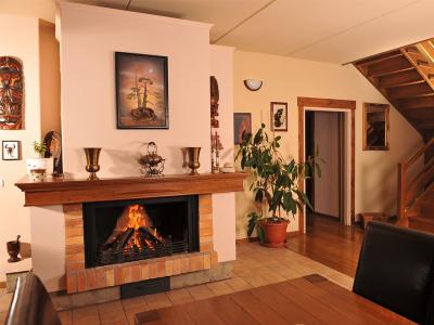 Společenská místnost domova pro seniory Světice Praha Východ